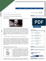 Henri Fayol e o Processo Administrativo _ Portal Administração