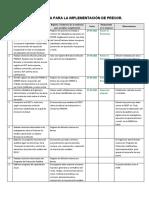 Cronograma tipo implementación PREXOR (1)