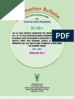 ICAR-UG-Bulletin-2011-12