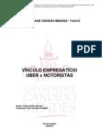 Direito Do Trabalho - Vínculo Empregatício - Uber x Motoristas _ Passei Direto