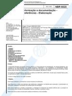 NBR 6023-2002