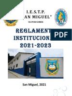 REGLAMENTO INSTITUCIONAL-2021-2023 APROBADA