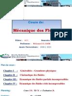 MF - Chapitre I . Généralités