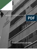 ENTREGA DE PROYECTO SANATORIO ANCHORENA