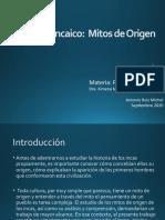 Mitos de origen-Incas