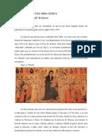 """La """"Majestad"""" de Duccio"""