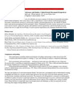 Climate Advocacy & Justice - ENVS 195 Z13 - Course Syllabus or Other Course-Related Document