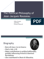 The Political Philosophy of Rousseau