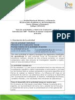 Guía de Actividades y Rubrica de Evaluación - Fase 1 - Introducción ABP