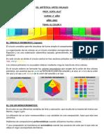 Ed. Artistica. Artes Visuales. Tema El Color II