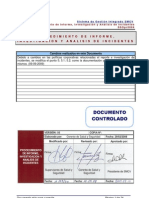 SSOpr0004_P_ Informe, Investigacion y Análisis de Incidentes_V5