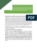 IMPORTANCIA DE LA SST EN LA ANATOMÍA Y FISIOLOGÍA foro 1