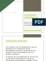 RESIDUOS ORGANICOS