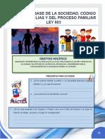 TEMA 4  CODIGO DE FAMILIA LEY NRO 603