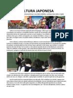 CULTURA JAPONESA - Trabalho Sociologia