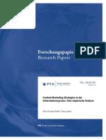 Content-Marketing-Strategien in der Unternehmenspraxis