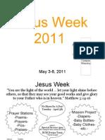 Jesus Week 2011 - A-B College