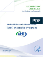 Medicaid EHR Incentive Registration User Guide