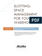 Slotting White Paper in Accellos One Warehouse Management Systems (WMS)