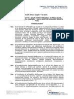 RESOLUCION ARCSA de 2021 010 AKRG Buenas Practicas de Almacenamiento Distribucion y Transporte Para Establecimientos Farmaceuticos y Establecimiento de Dispositivos Medicos