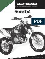 Sherco Manuel 250 300 Ser 2t 2017 a5 Complet