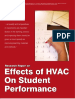 Effects of HVAC on Student Performance