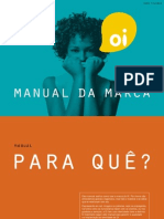 Manual de Identidade Visual da Marca Oi (@comunicadores)