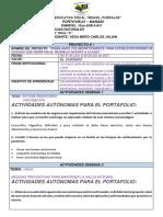 VEGA MERO CARLOS JULIAN. 10MO C. PROYECTO 1 DE CIENCIAS