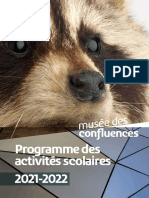 Programme Scolaire 2021 2022