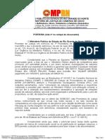 PROCEDIMENTO INVESTIGATÓRIO CRIMINAL sob o registro cronológico Documento nº 1870725 do procedimento