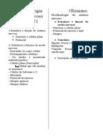 Morfofisiologia resumos