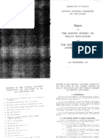 021_report on barnes report on malay education and fenn-wu report on chinese education 1951