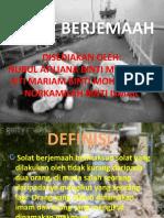 SOLAT BERJEMAAH-SLIDE