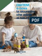 Depliant DAITEM E-nova 2021