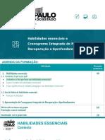 106 lâminas -Formação Habilidades essenciais e Cronograma Integrado de Recuperação e Aprofundamento (1)