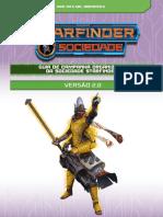 Guia de Campanha Organizada Da Sociedade Starfinder