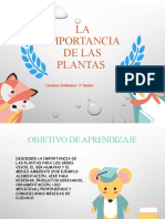 3rociencias Importancia de Las Plantas