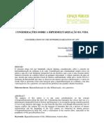 CONSIDERAÇÕES SOBRE A HIPERMILITARIZAÇÃO DA VIDA - Marcelo Bordin e Vyctor Grotti