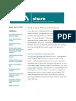 Shadac Share News 2011apr04