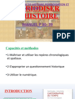 INTRODUCTION PERIODISER L'HISTOIRE