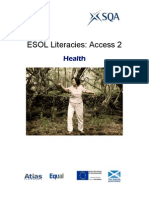 ESOL Literacies Access 2 - Health