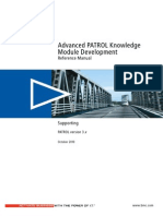 Advanced PATROL Knowledge Module Development