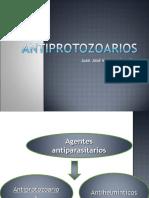 Antiprotozoarios