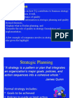 10 Strategic Planning and Implementation