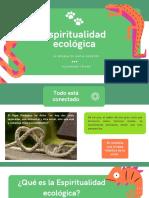 Espiritualidad ecológica