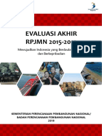 Evaluasi Akhir RPJMN 2015-2019