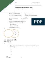 Taller No. 1. Conjuntos numericos y operaciones con reales 2021-1