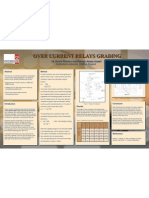 Technical Poster on Overcurrent Relays Grading