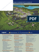 Brookdale Lincroft Campus Map