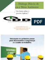 DDSMA – Diálogo Diário de Segurança e Meio Ambiente 01
